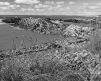 Clam Harbour Beach, NS B&W #2