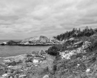 Crystal Crescent Beach, NS B&W #8