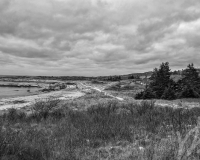 Crystal Crescent Beach, NS B&W #9