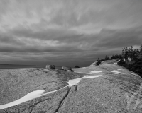 Crystal Crescent Beach, NS B&W #3
