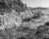 Duncan's Cove, NS B&W #5