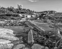 Duncan's Cove, NS B&W #6