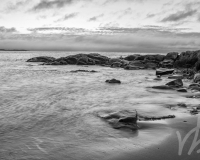 Martinique Beach, NS B&W #1